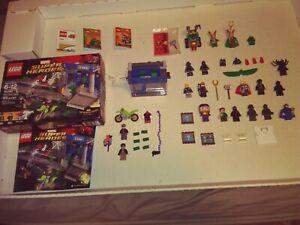 Lego Marvel Super Heroes Mini-Figure Lot of 19 Figures + Set #76082 Opened Box~