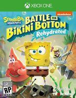 Spongebob Squarepants Battle for Bikini Bottom Rehydrated - Xbox One [NTSC] NEW