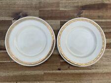 Art Deco Burleigh Zenith Plates Set Of 2