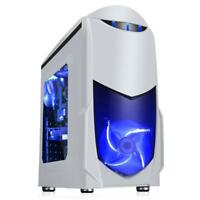 ULTRA FAST Quad Core Gaming PC Tower WIFI & 8GB 1TB HDD & Win 10 + 2GB Graphics