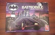 Amt Ertl Batman Returns Batmobile No. 6650 1:25 Scale Model Kit 1992 Usa