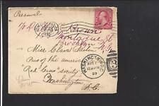 NEW ORLEANS,LOUISIANA 1899 COVER TO WASHINGTON D.C., AUXILLARY.FORWARED COVER.