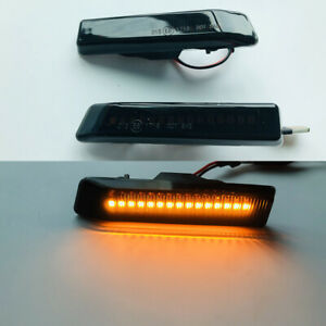 Dynamic Smoke LED Side Marker Turn Lights Signal For BMW E53 X5 99-06 E36 97-98