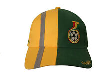 GHANA YELLOW GREEN FIFA SOCCER WORLD CUP EMBOSSED HAT CAP .. NEW