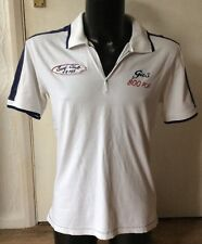 """Gas white mens top size L approx 38"""" chest"""