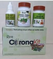 Baba Ramdev Patanjali Coronil Kit Immunity Booster - Fast FedEx 2day from USA