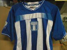 Honduras white blue soccer jersey Large 2010