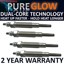 FOR NISSAN TERRANO II 2.7 1993-1996 DIESEL HEATER GLOW PLUGS FULL SET OF 4 TD