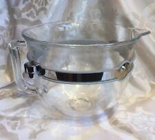 SALE!!!!! Glass Bowl for Kitchen Aid 6500 Mixer, Lift Attachments,Six Quarts