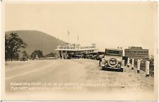 Scene at Grandview Point on Lincoln Highway West of Bedford PA RP Postcard