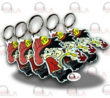 KEY CHAINS FIRE BRAT KEY CHAINS PERFECT FOR YOU LOT OF 10