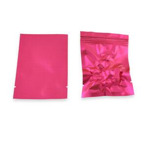 Matte Colorful Aluminum Foil Pouch Heat Seal Smell Proof Foil Bags For Tea Spice