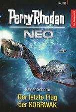 PERRY RHODAN NEO Nr. 213 - Der letzte Flug der KORRWAK - Rainer Schorm - NEU