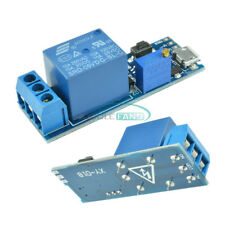 2pcs 5 30v Micro Usb Power Trigger Delay Relay Timer Control Switch Module