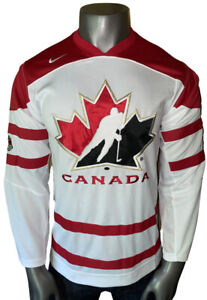 NWT! Official Nike Team Canada IIHF Men's Small White/Red Hockey Jersey