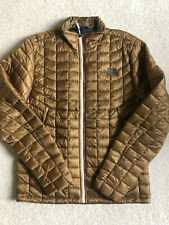 NWT The North Face Men's Thermoball Jacket- New Small Dijon Brown