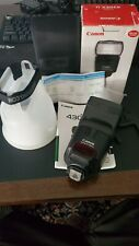 Canon Speedlite 430EX II Shoe Mount Flash for Canon with Gary Fong Diffuser