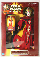 "MIB New STAR WARS 12"" Queen Amidala Royal Elegence Collection Figure Doll 1998"