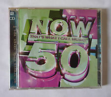 NOW THAT'S WHAT I CALL MUSIC 50 - 2001 2 CD  ALBUM - GOOD CONDITION