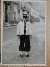 Vecchia foto BAMBINO CON VESTITO DA CARNEVALE Matierno Salerno 1966 TABACCHI di