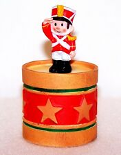 1985 Hallmark New Christmas Soldier & Drum Container Merry Miniature Xha3465 New
