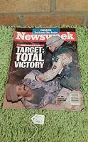 Newsweek, Bush's Battle Plan Target Tolat Victory, March 4 1991