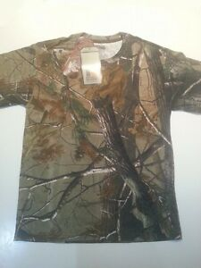 REALTREE AP SHORT SLEVE  HUNTING CAMO T-SHIRT YOUTH SIZE XL 18/20