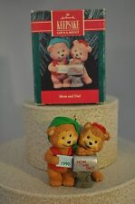Hallmark - Mom and Dad - Putting Envelop in Mail - Keepsake Classic Ornament