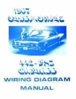 Oldsmobile 1968 F85 442 Cutlass Wiring Diagram Ebay