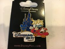 Disneyland Resorts Paris Sorcerer Mickey Mouse 2005 *New* Disney Pin