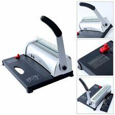 Yaekoo 8541731852 21-Hole 450 Sheets Paper Comb Punch Binding Machine
