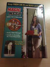 Magic Mesh Hands Free Door Screen
