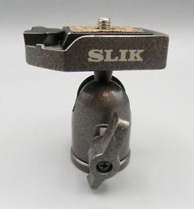 SLIK Tripod Ball Head w/ Release Plate SBH-100DQ