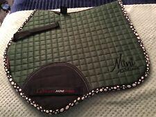 Mini LeMieux Hunter Green - saddle pad brand new