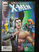 ⭐️ UNCANNY X-MEN #3a (lgy 622) (2019 MARVEL Comics) ~ VF/NM Book