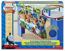 Thomas And Friends Fisher Price Wooden Railway Playtable Storage Bag 3 Pockets2+