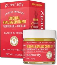 Puremedy Original Healing Ointment (1oz) First Aid + Wound Care Exp: 04/2024