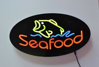 LED Neon Light SEAFOOD Business Sign