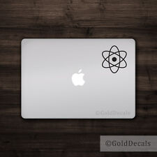 Atom -- Vinyl Decal Car Truck Mac Sticker Macbook Decal Science Atheist Einstein