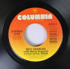 Soul 45 Ray Charles - Little Hotel Room / Two Old Cats Like Us On Columbia