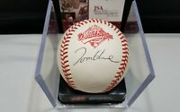 Tom Glavine HOF 2014 Autographed Signed Rare ROMLB 1992 W.S Auth by JSA I59296