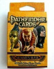 Paizo Pathfinder Face Cards Mummy's Mask 54 Full Color Face Cards 3 5/8 x 2 5/8""