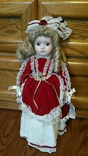 VINTAGE GORHAM PETTICOATS & LACE 3rd ANNUAL Musical  CHRISTMAS DOLL