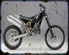Bmw Sport Enduro 450 A4 Metal Sign Motorbike Vintage Aged