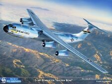 ART PRINT: C-141 Starlifter The Golden Bear- Print by Shepherd