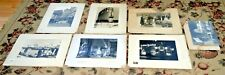 VTG Lot of 7, 14X12 Matted Photographs Pre-WWII Germany by George W. Brown 1939