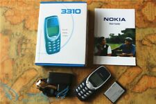 Nokia 3310 - Blue (Unlocked) Cellular Phone With original box and accessorize.