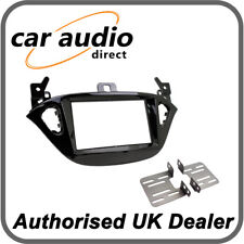 Connects2 CT23VX48 Piano Black Double DIN Facia Kit for Vauxhall Corsa/Adam