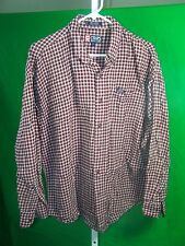 Chaps by Ralph Lauen XL mens plaid long sleeve shirt button down collar
