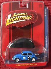 JOHNNY LIGHTNING Lmt Ed - VOLKSWAGEN - '65 Beetle Rallye ~ w/ Car Cover ~ 1/64